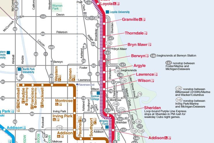 Public Transportation 48th Ward Service Website